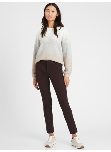 Banana Republic Sloan Skinny-Fit Pantolon Kahve